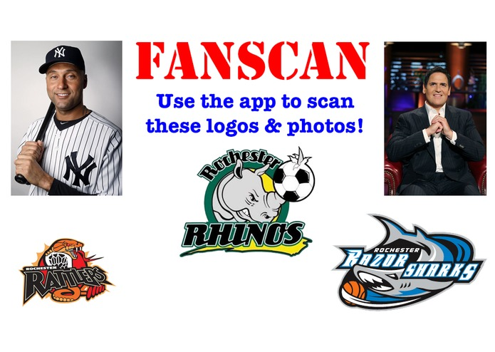FanScan: Scan a TEAM LOGO or a PLAYER'S PHOTO! – screenshot 1