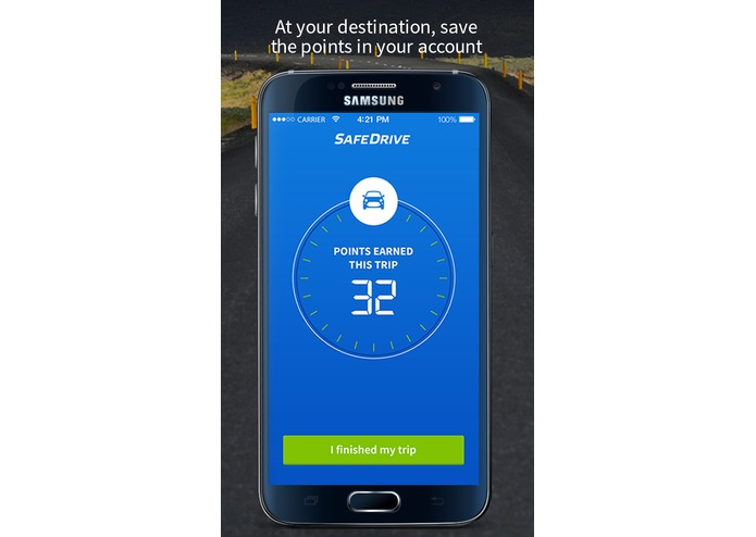 SafeDrive app rewards your good behavior while driving – screenshot 3