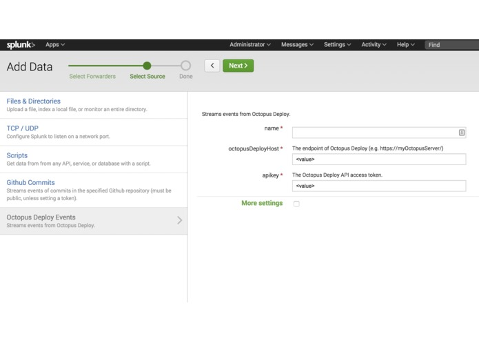 Octopus Deploy – screenshot 3