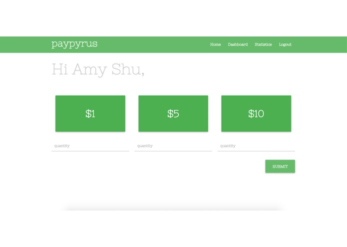paypyrus – screenshot 2