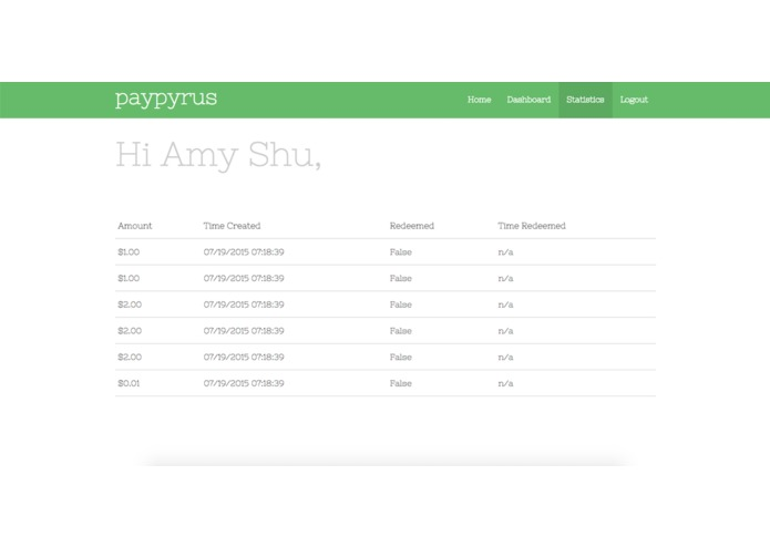 paypyrus – screenshot 3