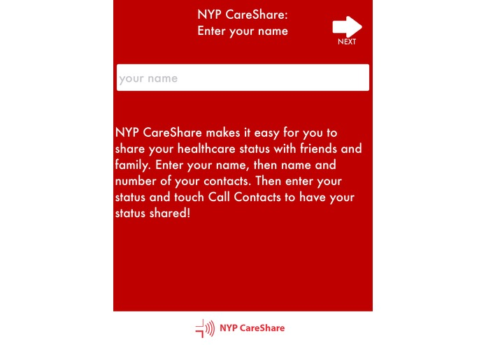 CareShare: Share Healthcare updates w/ your contacts! – screenshot 2
