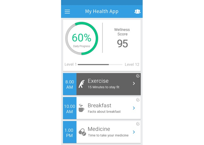 MyHealth – screenshot 2