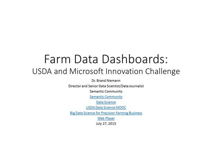 Farm Data Dashboards – screenshot 1