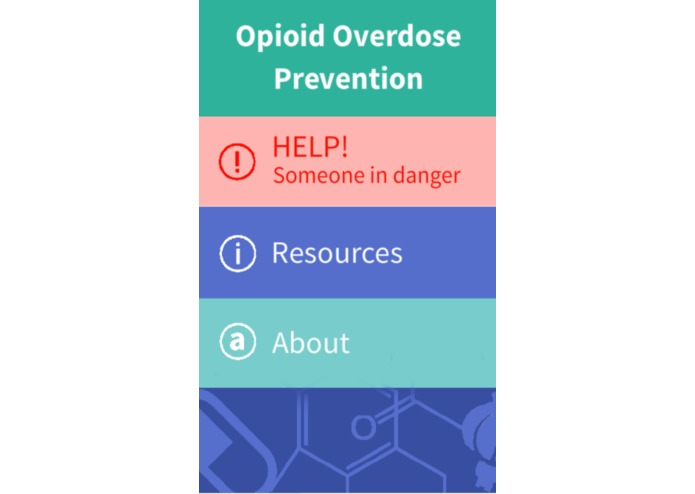 Opioid Overdose Prevention Android App – screenshot 2