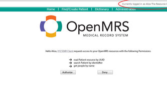 OAuth2 provider for OpenMRS