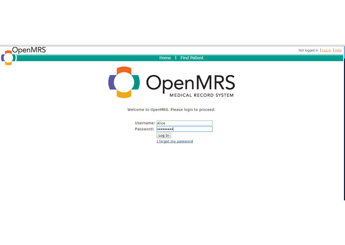 OAuth2 provider for OpenMRS – screenshot 2