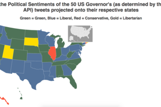 Political Sentiment Map