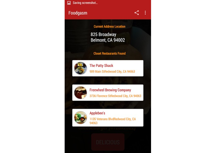 Foodgasm – screenshot 5