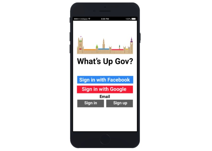 What's Up Gov? – screenshot 1