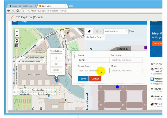 TIC Explorer – screenshot 1