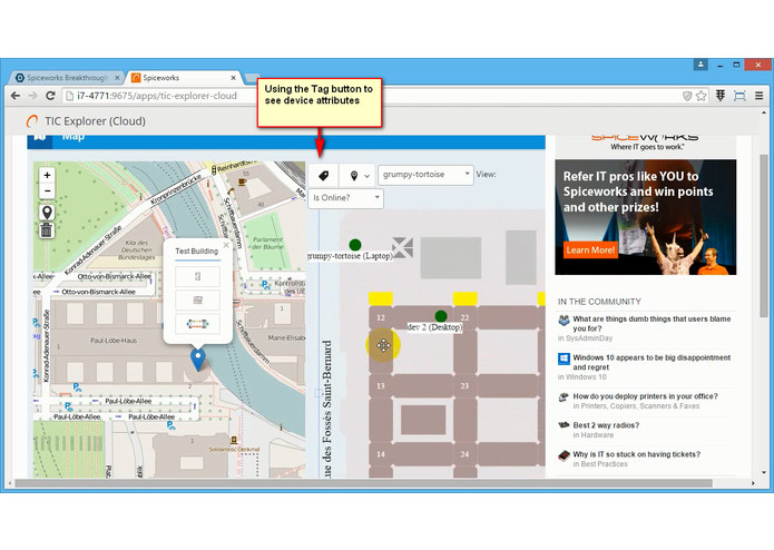 TIC Explorer – screenshot 2