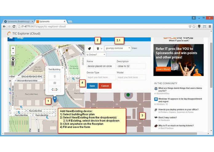 TIC Explorer – screenshot 3