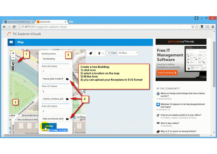 TIC Explorer – screenshot 4