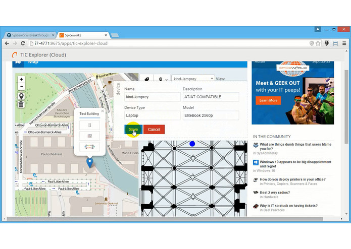 TIC Explorer – screenshot 5