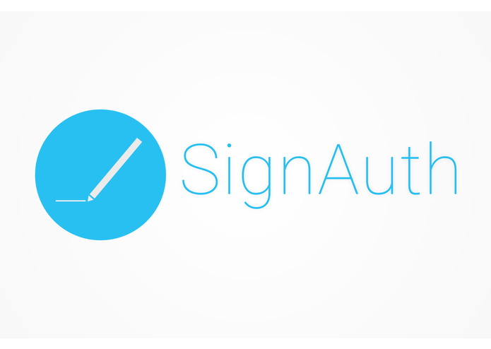 SignAuth – screenshot 1
