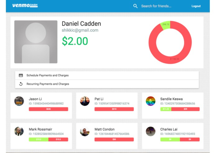 Venmo Dash – screenshot 3