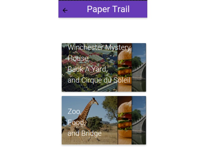 PaperTrail – screenshot 2