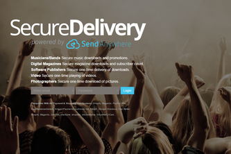 SecureDelivery powered by Send-Anywhere