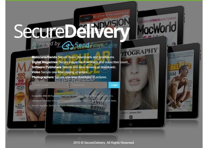 SecureDelivery powered by Send-Anywhere – screenshot 7