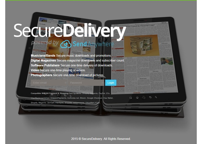 SecureDelivery powered by Send-Anywhere – screenshot 8