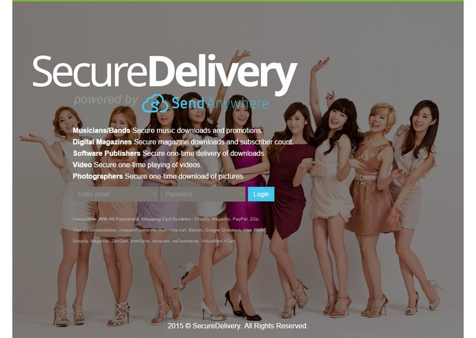 SecureDelivery powered by Send-Anywhere – screenshot 9