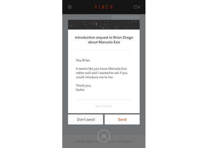 Finch – screenshot 1