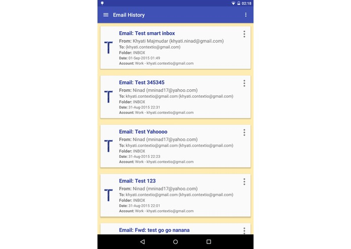Smart Inbox – screenshot 2