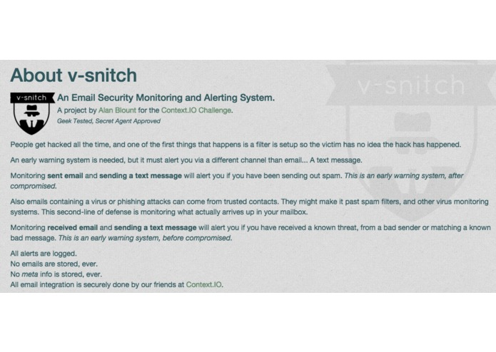 v-snitch – screenshot 4