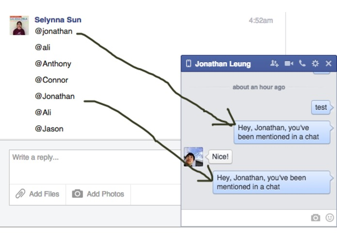 Facebook Chat 2.0 – screenshot 1
