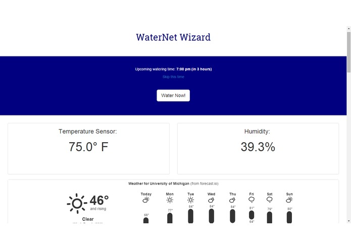WaterNet – screenshot 1