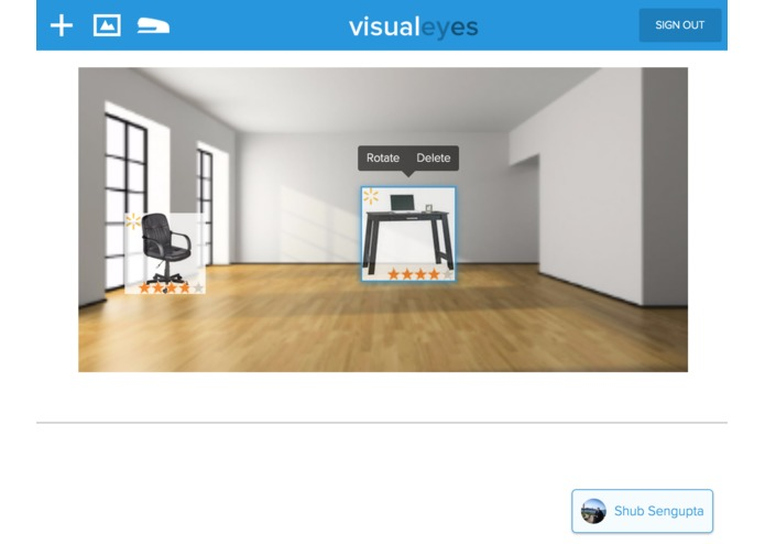 Visualeyes – screenshot 4