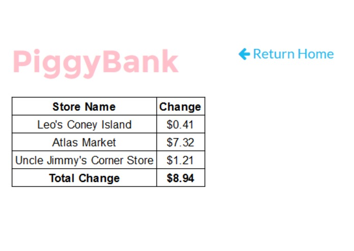 PiggyBank – screenshot 3