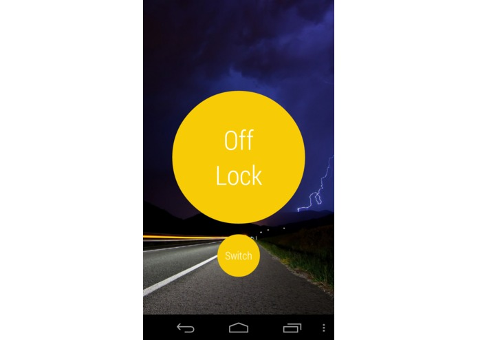 Screen Lock for Navigation – screenshot 2