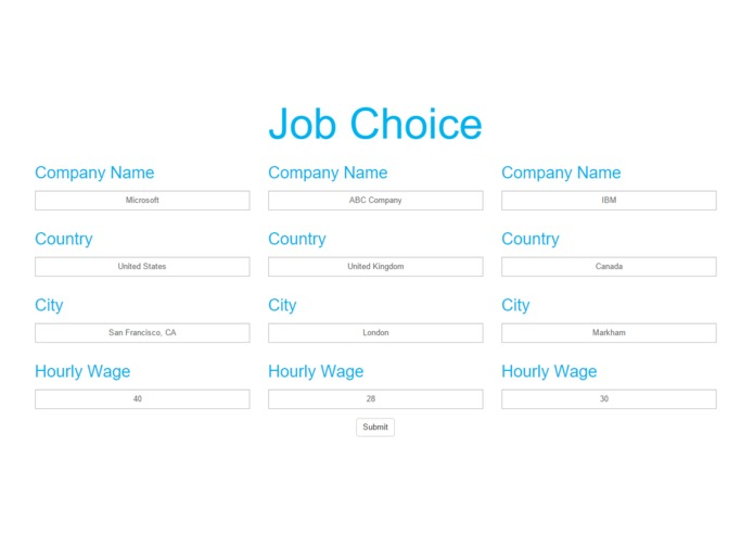 Job Choice – screenshot 1