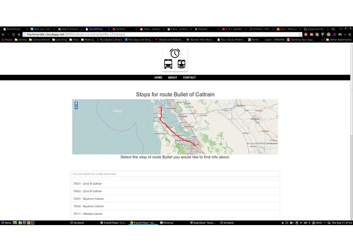 TransitTimes – screenshot 4