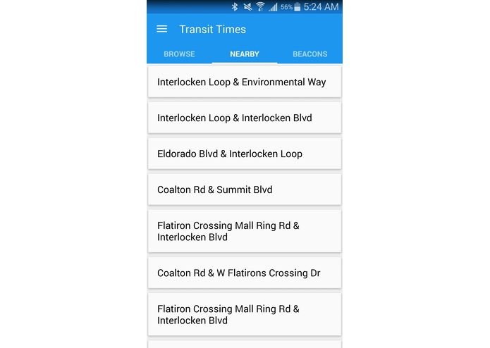 TransitTimes – screenshot 8