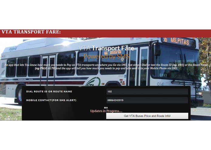 VTA Transport Fare – screenshot 1
