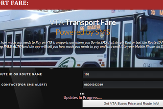 VTA Transport Fare
