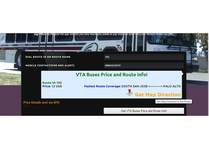 VTA Transport Fare – screenshot 2