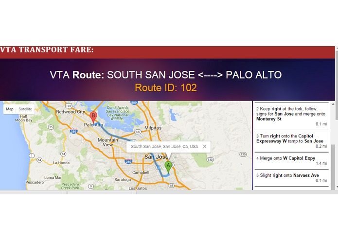 VTA Transport Fare – screenshot 3