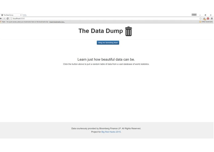 The Data Dump – screenshot 1