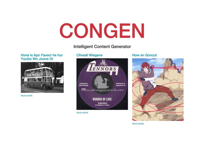 ConGen – screenshot 2