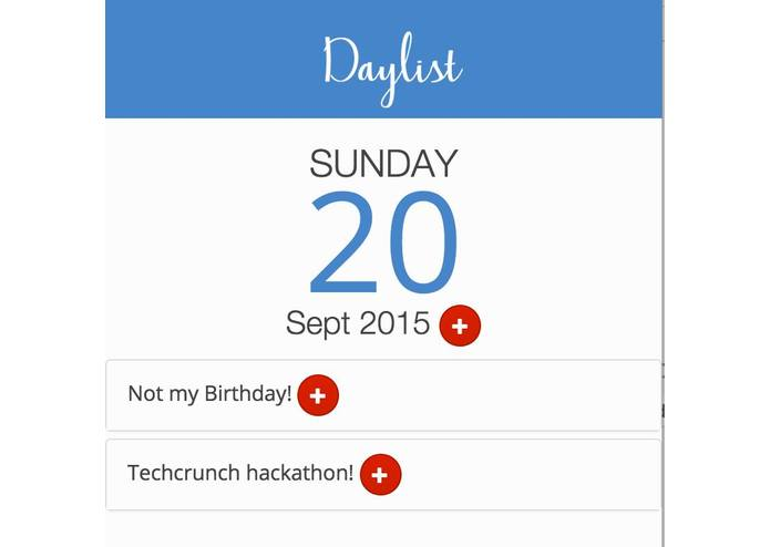 DayList – screenshot 4