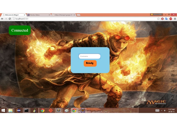 Magic In The Browser – screenshot 1
