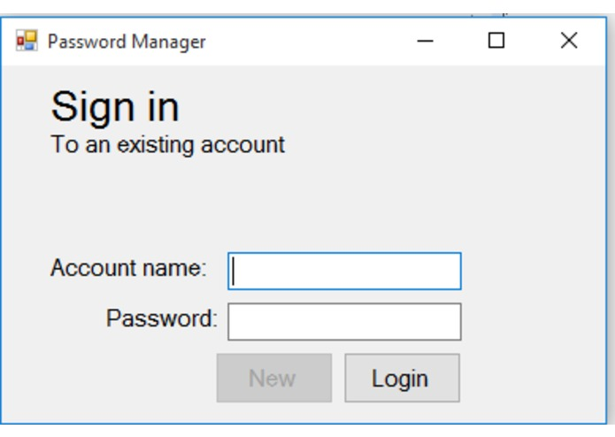 Password Manager – screenshot 2