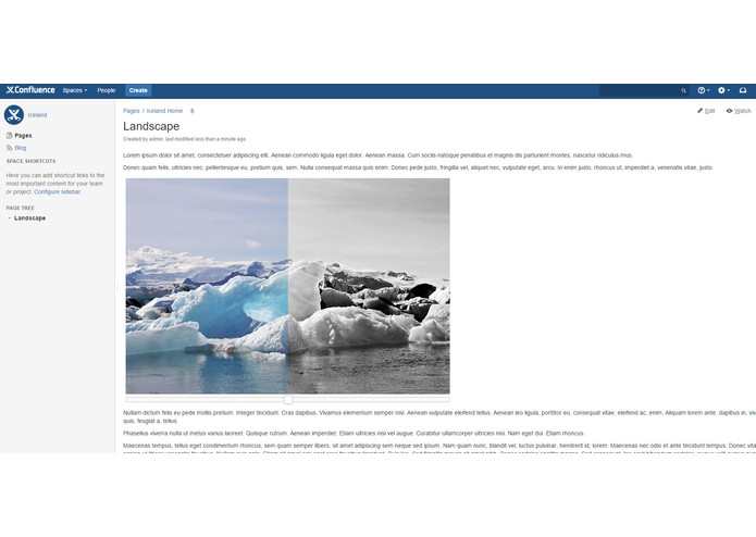 Image Galleries for Confluence – screenshot 2