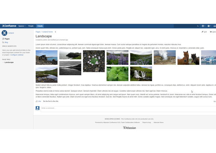 Image Galleries for Confluence – screenshot 3