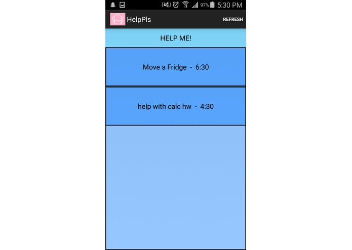 HelpPls – screenshot 4
