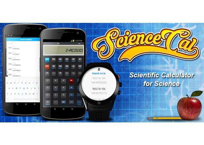 ScienceCal:Scientific Calculator – screenshot 1